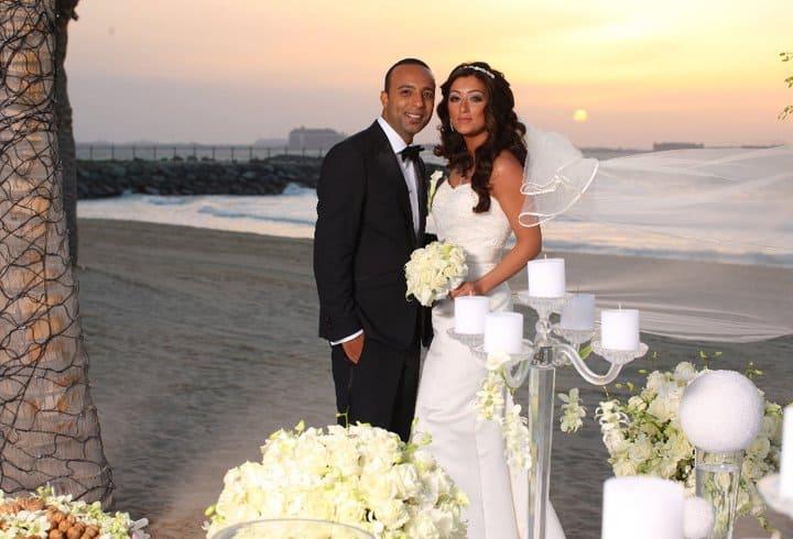 عروسی آرش لباف و بهناز انصاری دبی