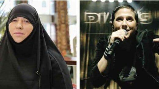 خواننده زن فرانسوی که مسلمان شد