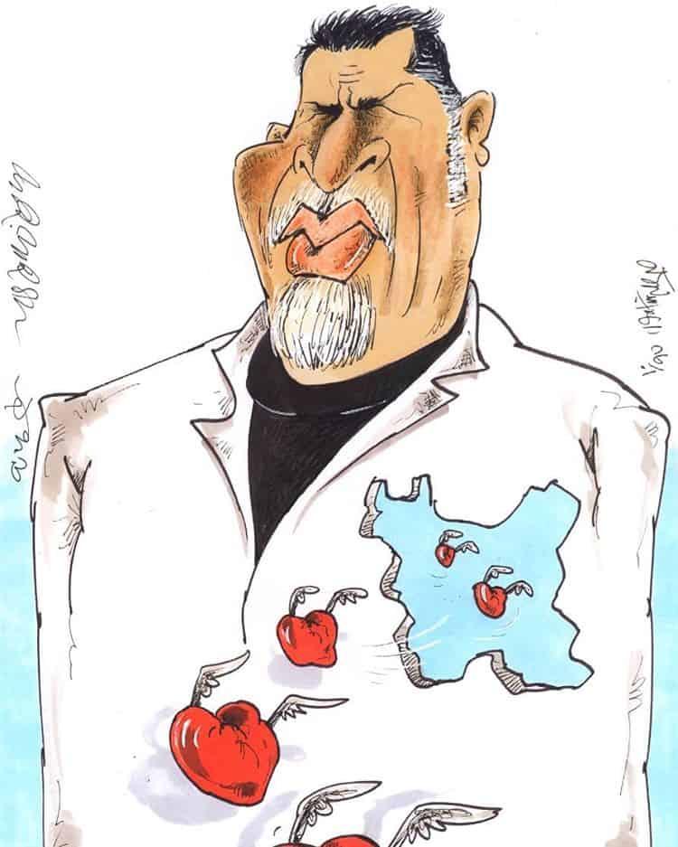 تمسخر علی دایی در رسانه ملی