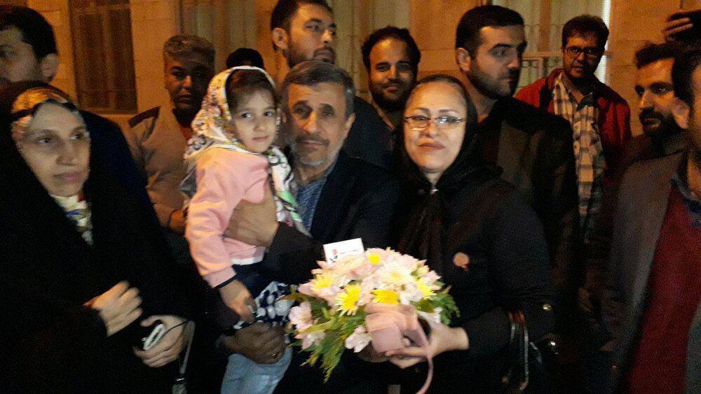 تولد احمدی نژاد در نارمک