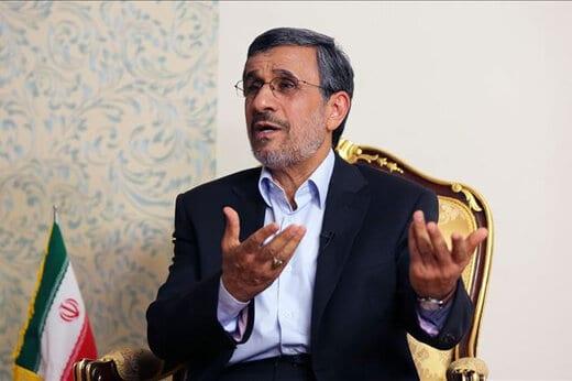 دعای احمدی نژاد برای کرونا