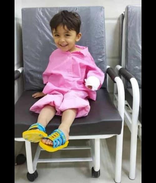 فوت یک کودک در حین جراحی دست در آبادان