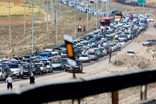 ترافیک جاده شمال
