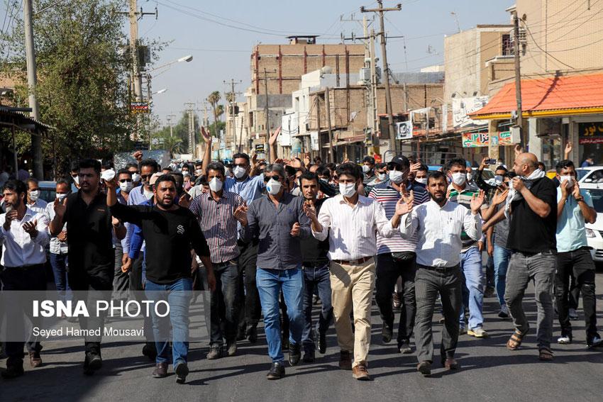 اعتراض کارگران نیشکر هفت تپه