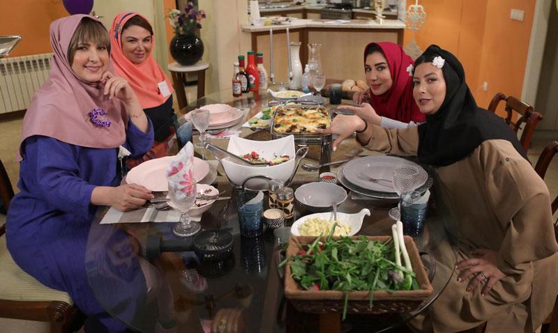 شام ایرانی با تم مدرسه