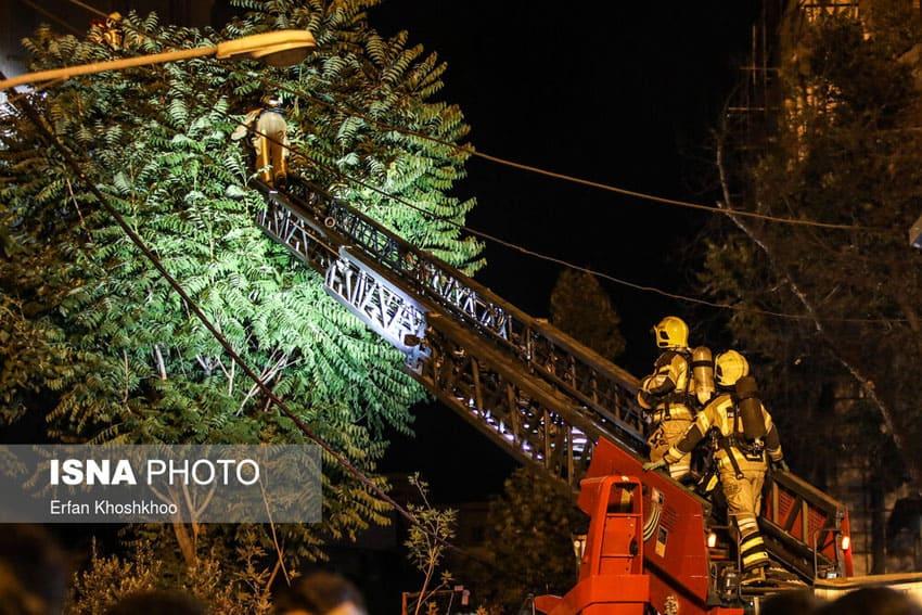 حادثه انفجار کپسول در کلینیک سینا