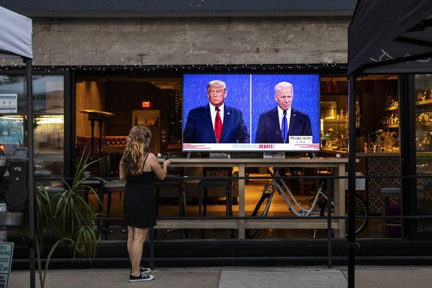 مناظره ترامپ بایدن