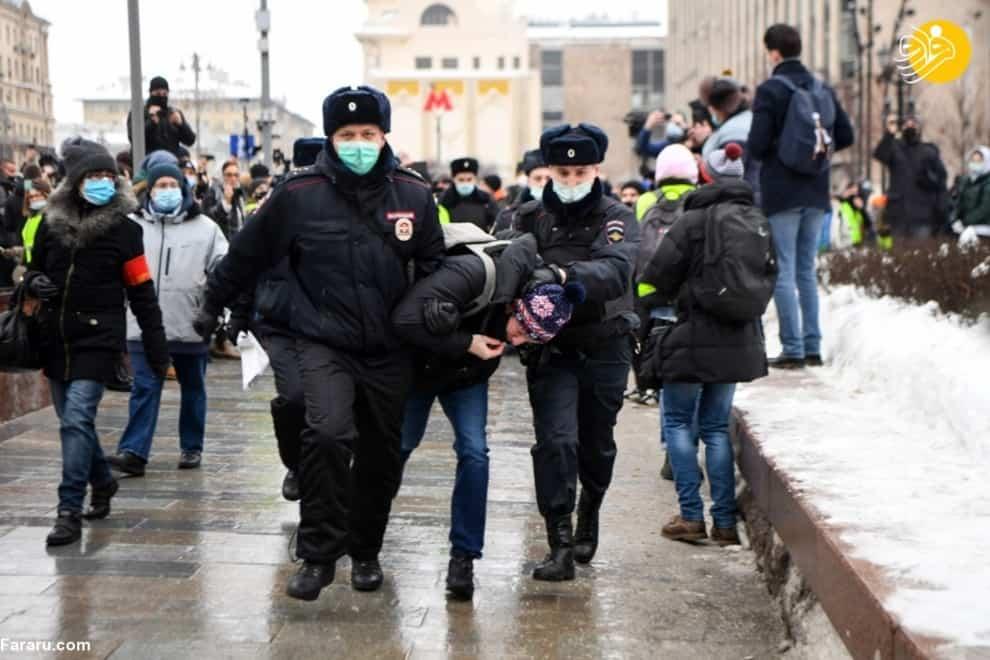 سرکوب مخالفان پوتین