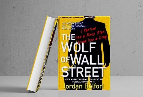 کتاب گرگ وال استریت The Wolf Of wall Street