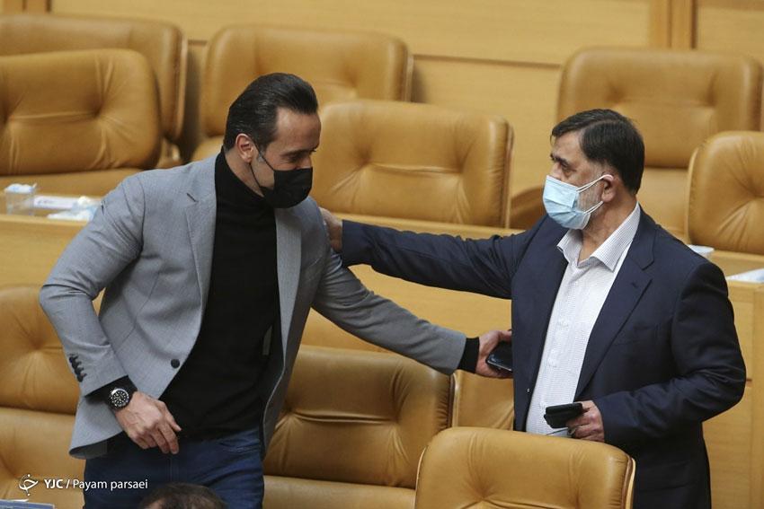 علی کریمی و انتخابات فدراسیون فوتبال