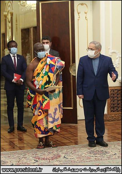 سفیر جدید غنا