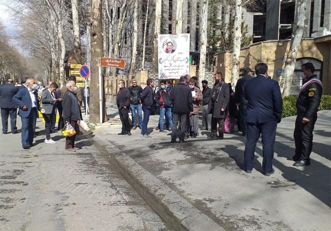 اعتراض به جهانگیری در کردستان