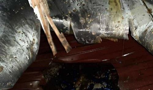 حمله تروریستی به کشتی ایرانی