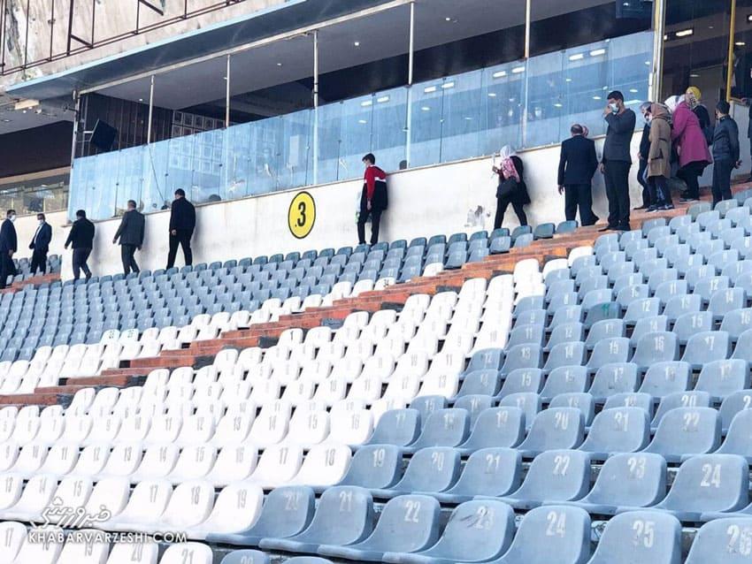 دیدار فوتبال دوستانه ایران و سوریه