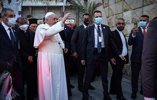 دیدار پاپ فرانسیس با آیتالله سیستانی