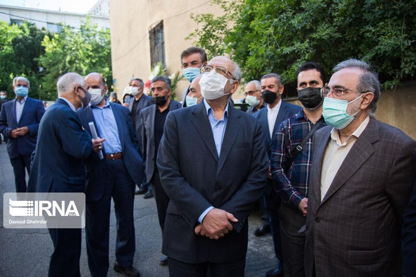تشییع پیکر مرحوم اکبر ترکان