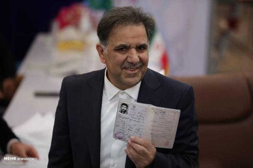 ثبت نام عباس آخوندی در انتخابات 1400