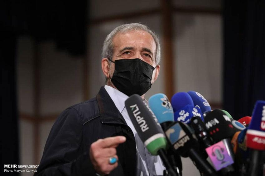 ثبت نام مسعود پزشکیان در انتخابات 1400