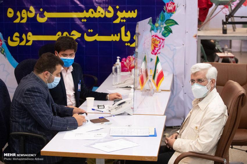 ثبت نام سعید چلیلی در انتخابات ریاست جمهوری