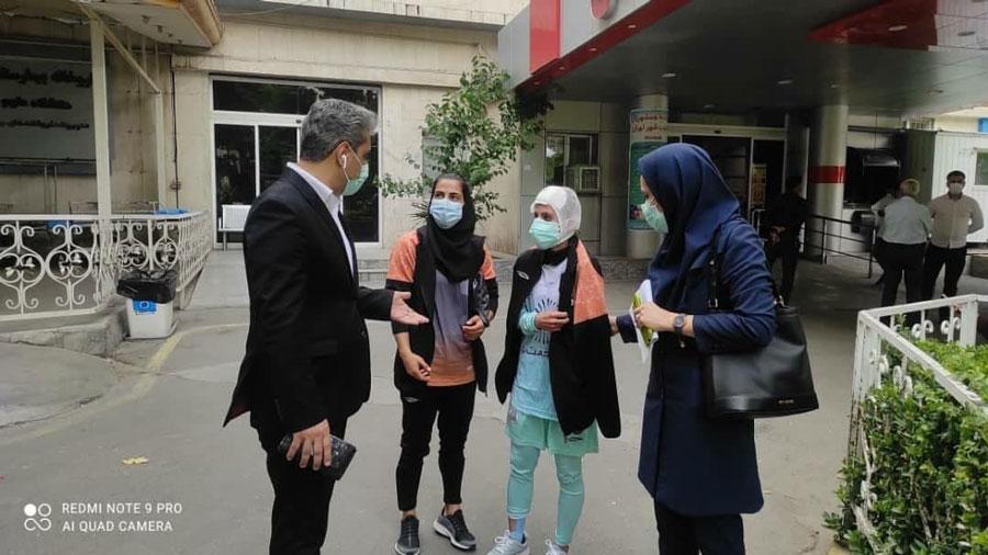 مهتاب بنایی لیگ برتر فوتسال زنان