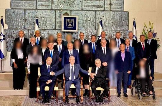 عکس جنجالی از کابینه اسرائیل