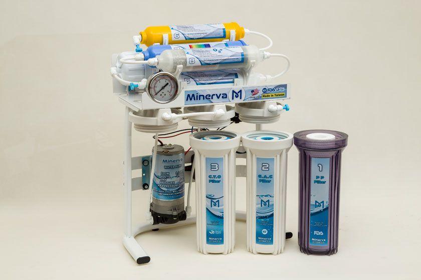 خرید دستگاه تصفیه آب از مینروا فیلتر