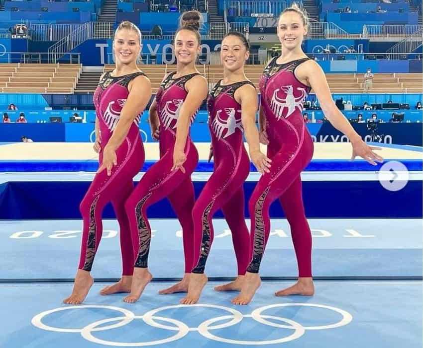 لباس تیم ژیمناستیک زنان آلمان