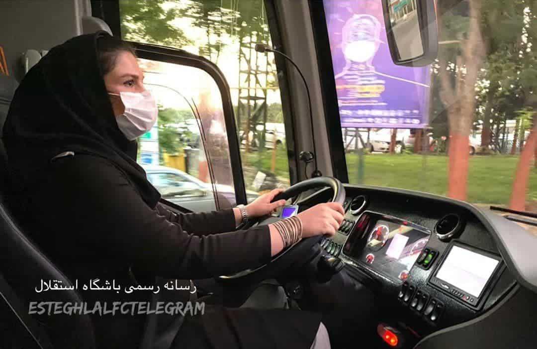 راننده خانم