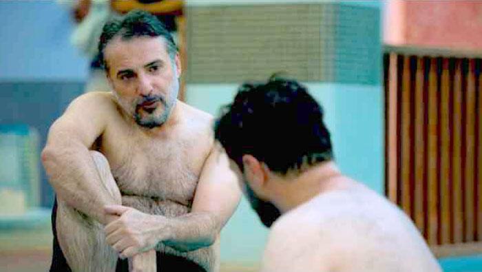 لخت شدن سید جواد هاشمی در زخم کاری