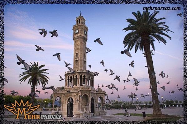 سفر به شهر ازمیر و آنکارا در ترکیه