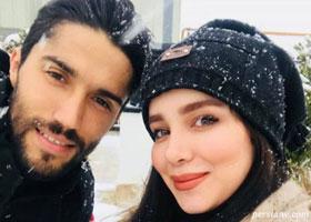 سیدحسین حسینی و همسرش