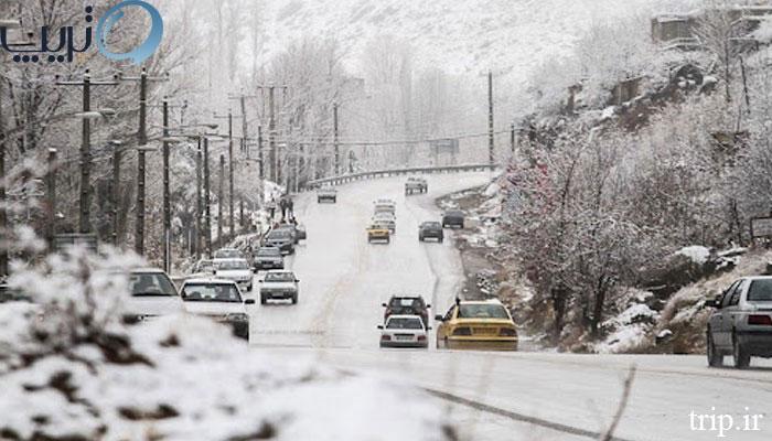 سفر به تبریز در زمستان