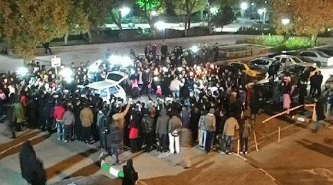 تجمع هواداران پاشایی
