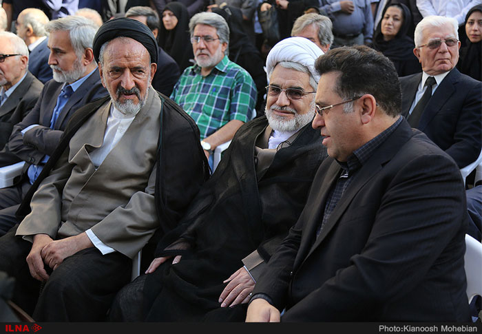 تشییع پیکر ابراهیم یزدی