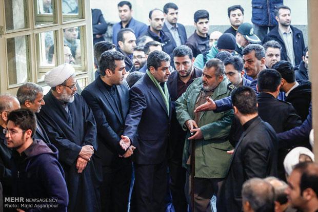 عکسهای مراسم تشییع مرحوم آیت الله هاشمی رفسنجانی