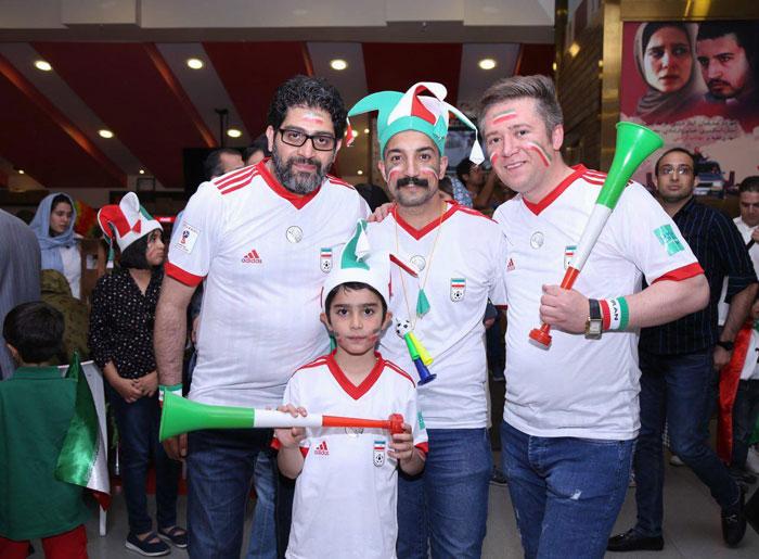 تماشای فوتبال جام جهانی در سینما