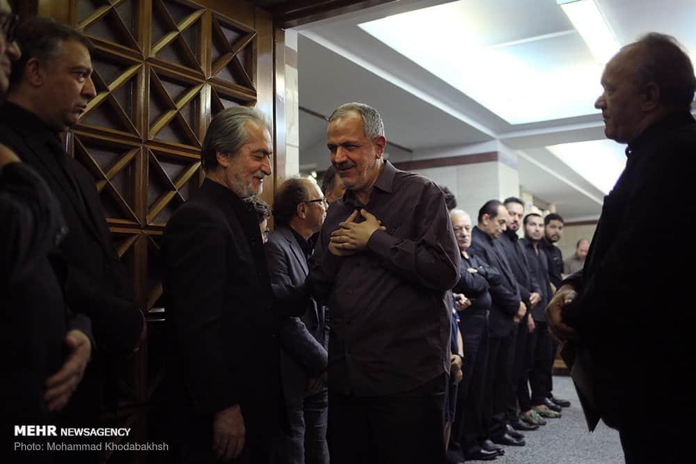 مراسم ختم عزت الله انتظامی