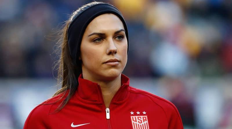 الکس مورگان زیباترین فوتبالیست زن جهان