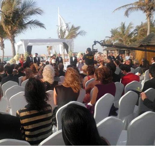 عکس عروسی آرش و بهناز انصاری