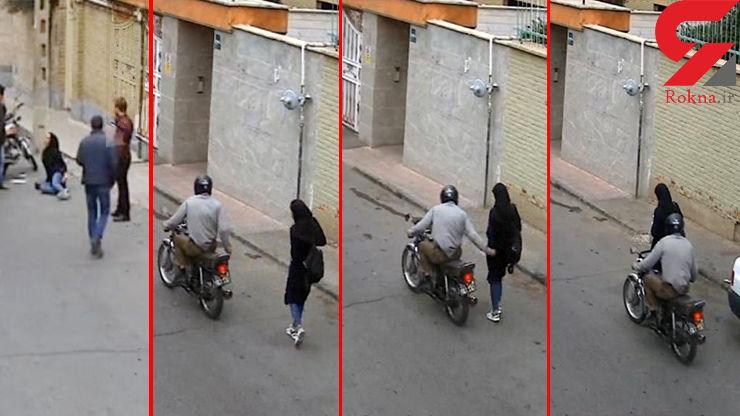 حمله با درفش به زنان تهرانی