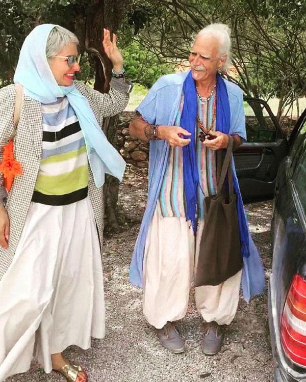 مهناز افشار و بهرام جی