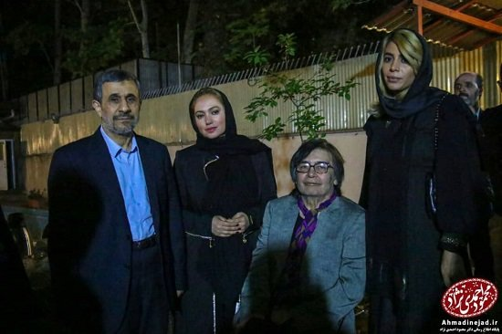 رضا رویگری در افطاری احمدینژاد