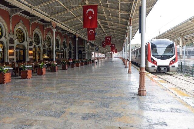 بلیط قطار تهران وان ترکیه