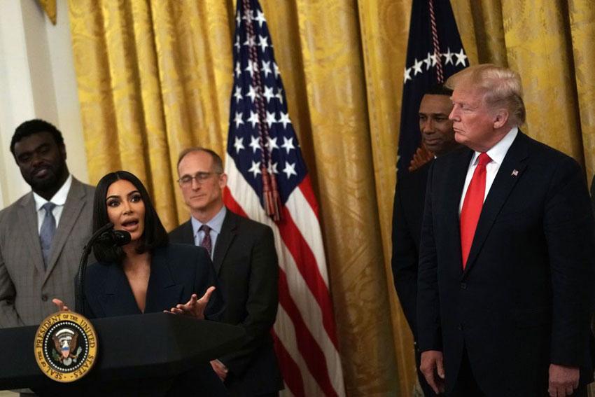 ترامپ و کیم کارداشیان